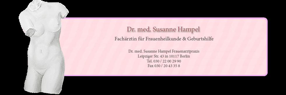 Dr med Susanne Hampe